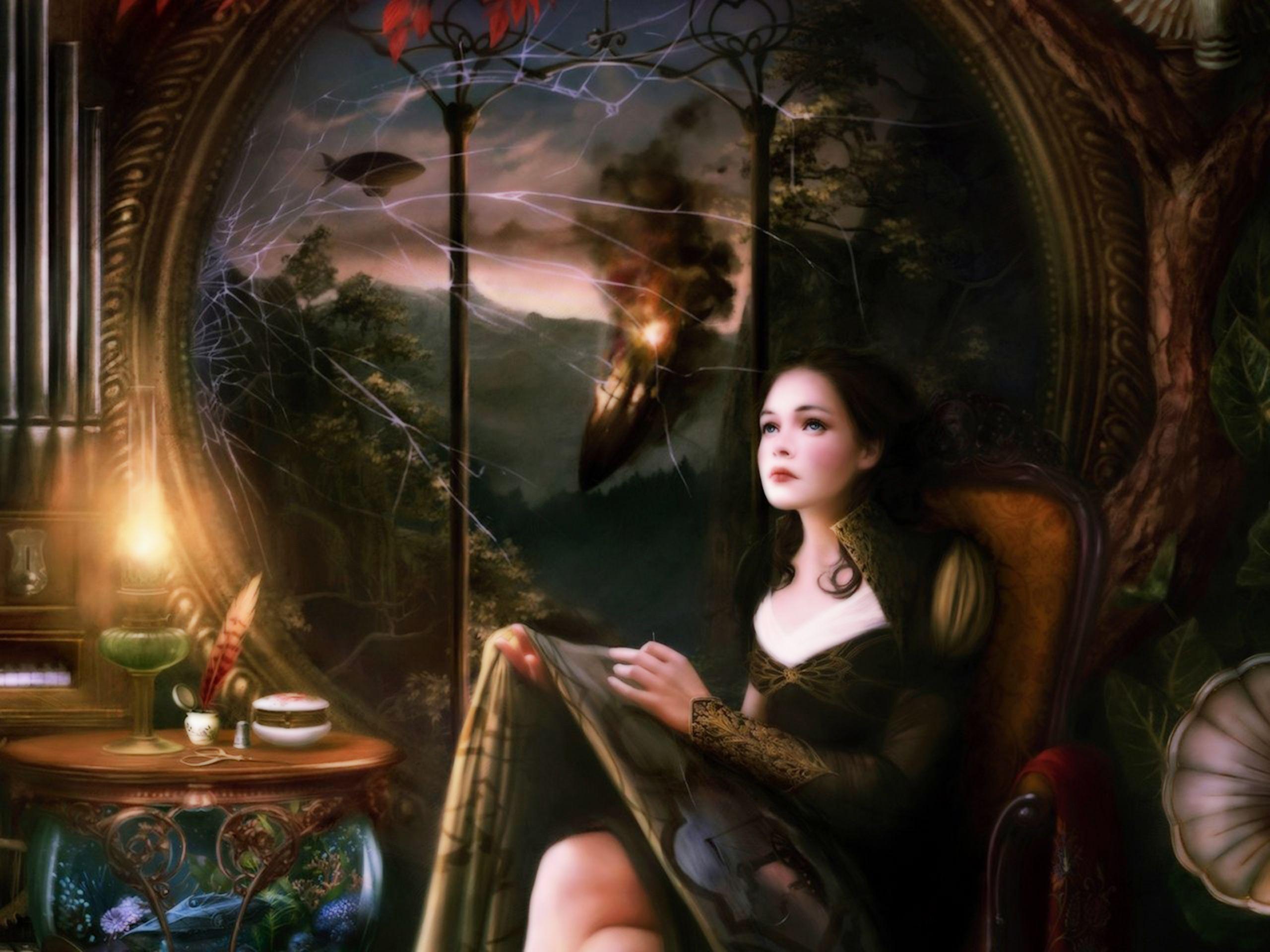 Fantasy Art Women Warriors Women Warrior Computer Wallpapers