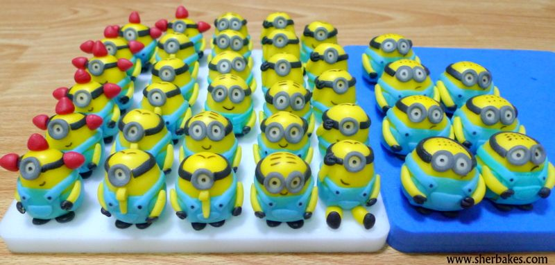 Life is too short, Eat Desserts: Minion Cupcakes