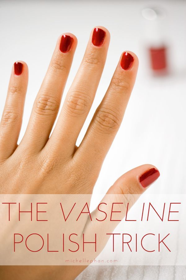 Up: How to Get Perfect Polish Every Time To avoid getting polish on your cuticles, use a q-tip to apply vaseline or lotion anywhere you don't want the polish to stick.To avoid getting polish on your cuticles, use a q-tip to apply vaseline or lotion anywhere you don't want the polish to stick.