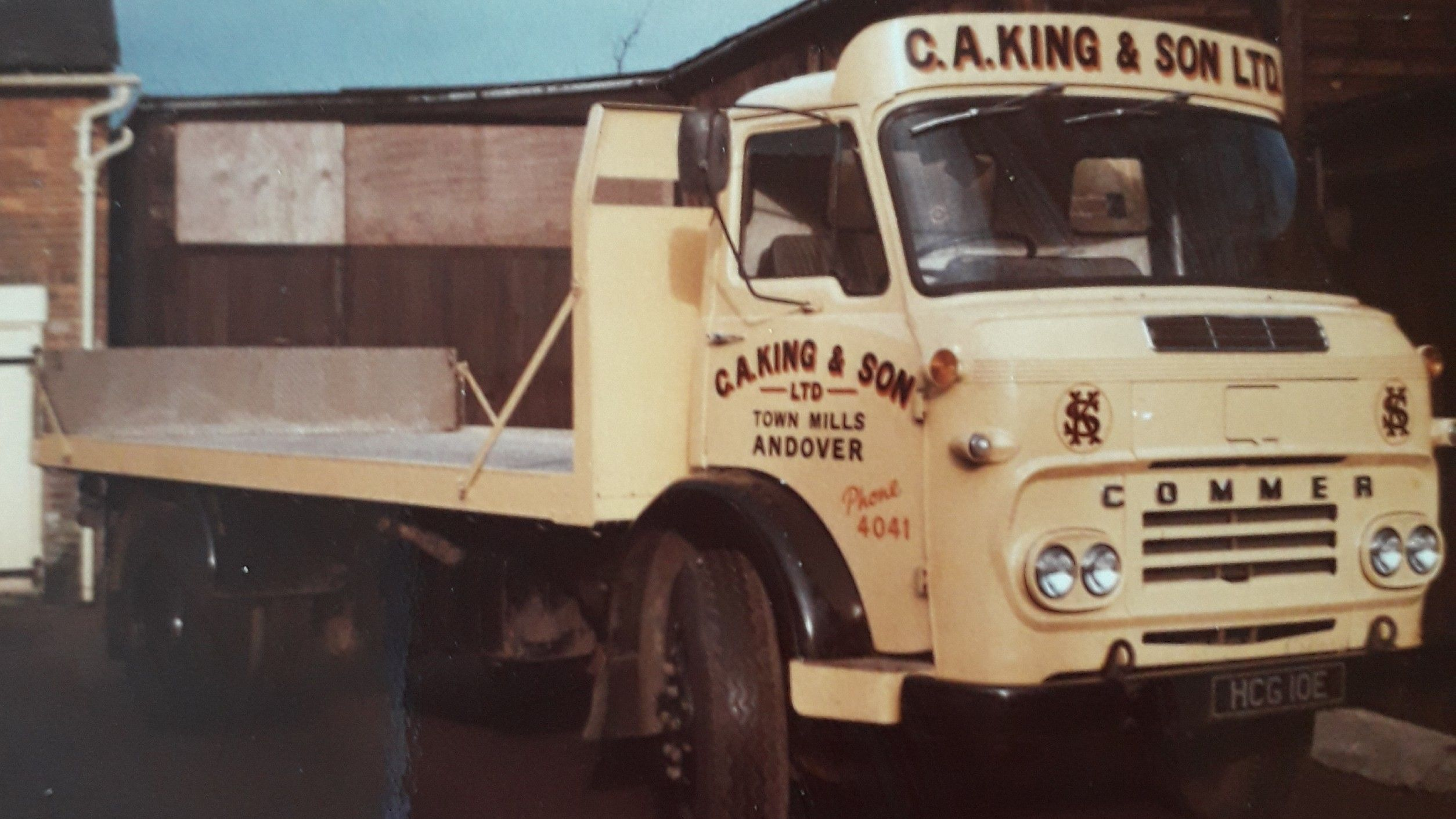 Dad S Lorry Mid 1960s Late 60s The Company S Name Changed To