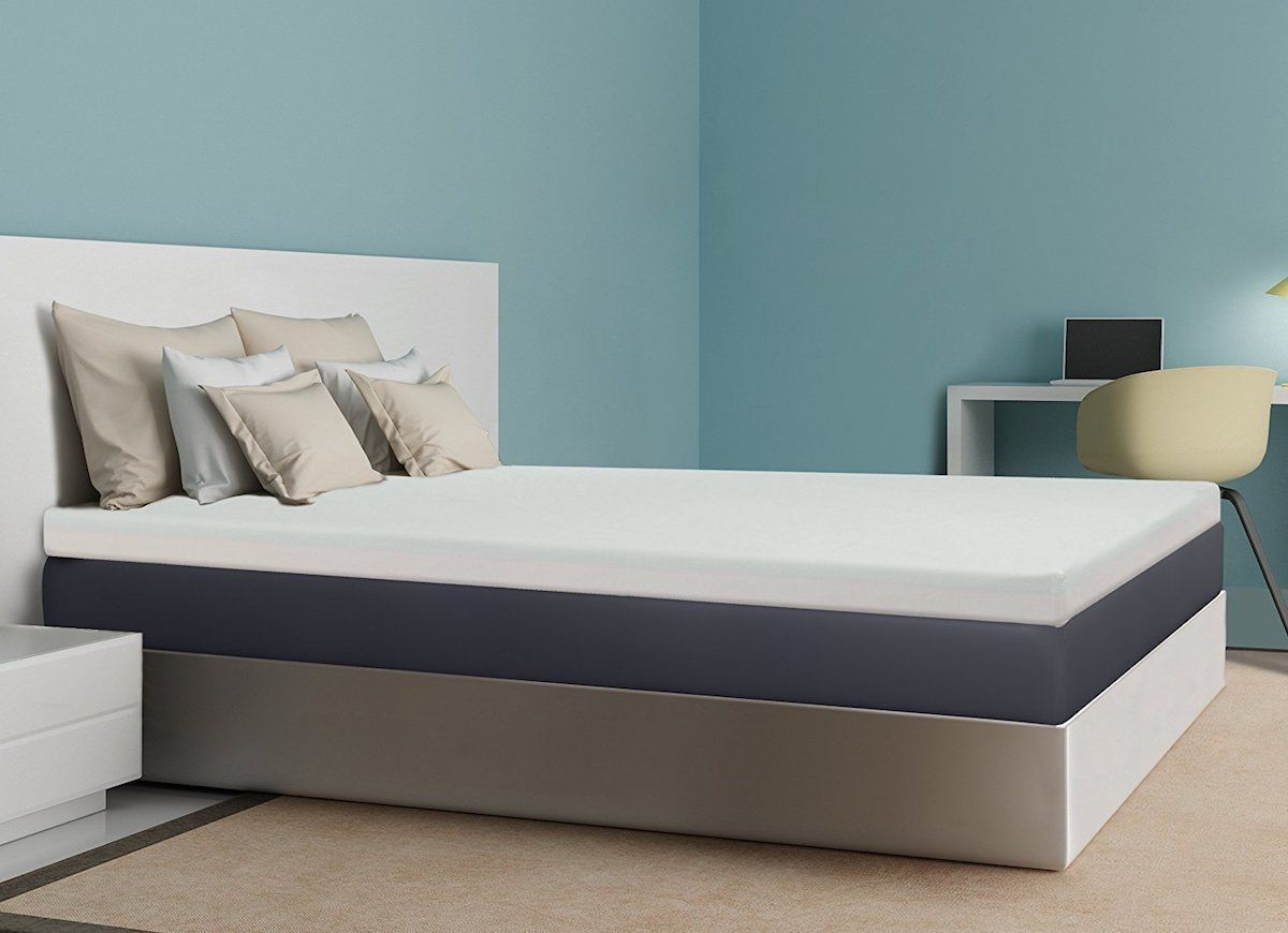 Consider This Memory Foam Mattress Topper From Best Price