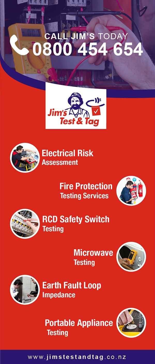 Testing and Tagging Services Safety switch, Testing tags