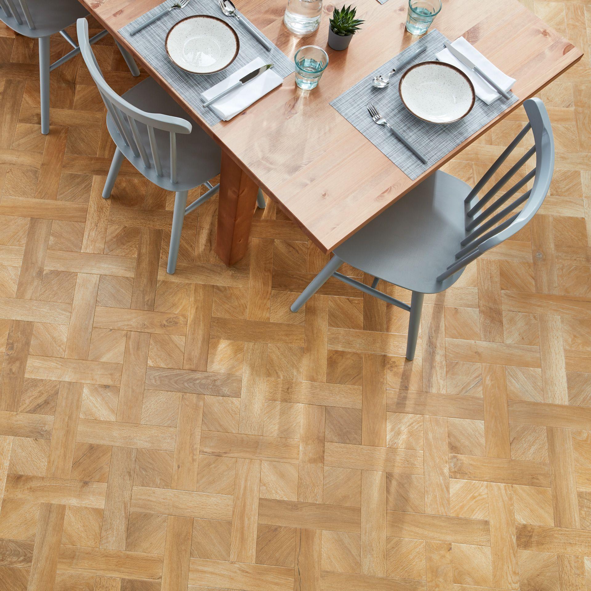 Natural Wood Effect Flooring LVT Wood Flooring