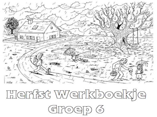 Quatang Gallery- Herfst Werkboekje Groep 6 Gratis Kleurplaten Herfst Herfst Halloween