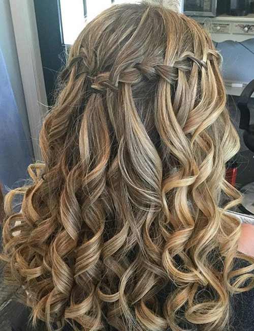 31 Incredible Half Up-Half Down Prom Hairstyles | Cute ...