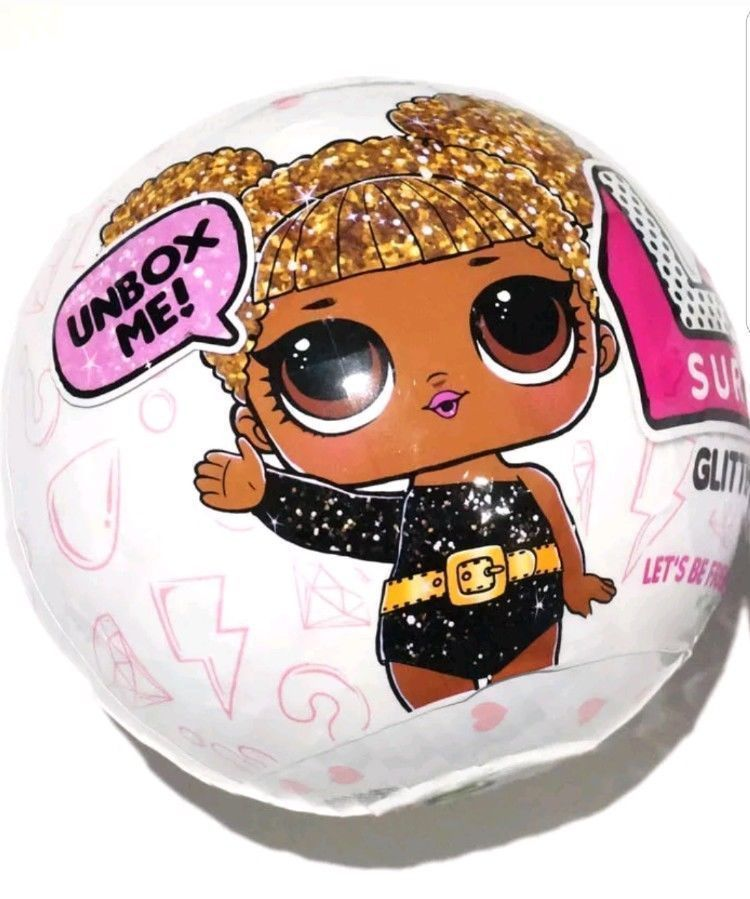 Authentic Glitter Series 3 LOL Surprise DOLL 7 Layers L.O.L Big Sisters 1 BALL