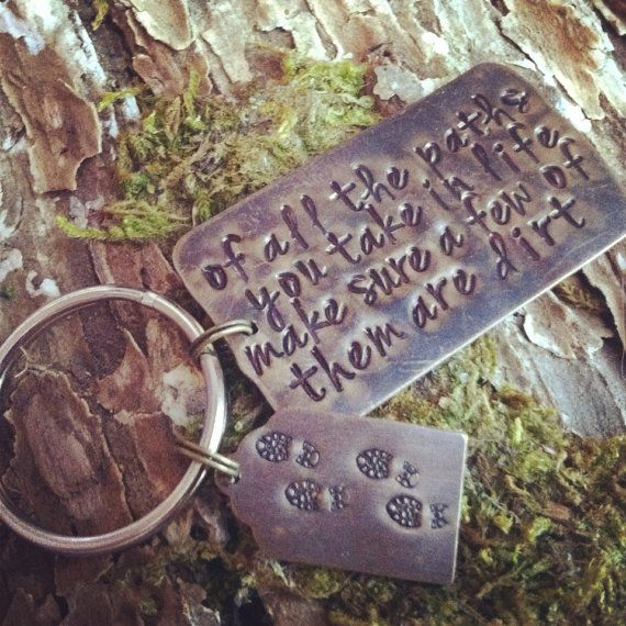 Of all the paths you take in life make sure a by MotherhoodJourney - I like that quote