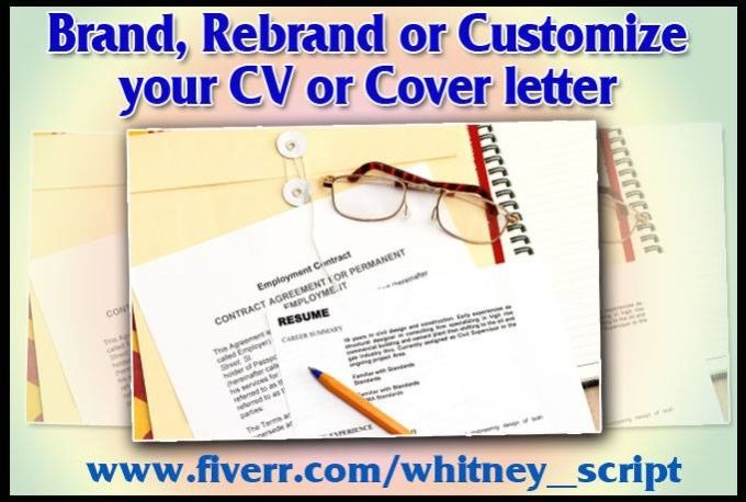 rewrite Edit Your Resume Or Cover Letter To Get You A Job by whitney_script