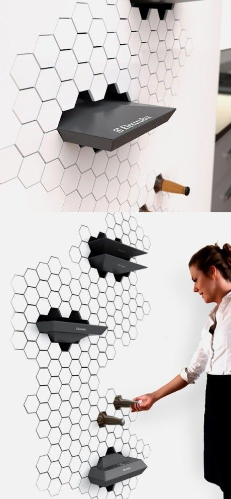 New concept refrigerator without doors