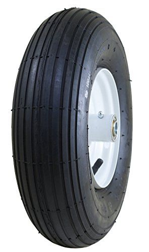 Marathon 4006 Pneumatic Air Filled Tire On Wheel 3 Hub 58 Bearings Visit The Image Link More Details Wheelbarrow Tires Outdoor Umbrella Lights Tire