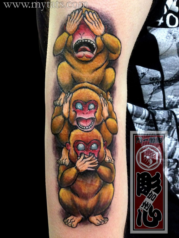 three-wise-monkeys-three-wise-monkeys | Assortment of - \