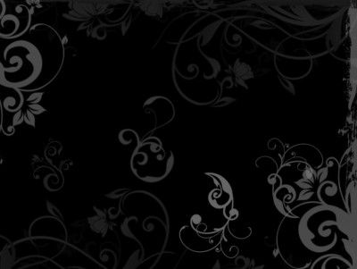 floral black wood ppt backgrounds | abstract templates | pinterest, Modern powerpoint