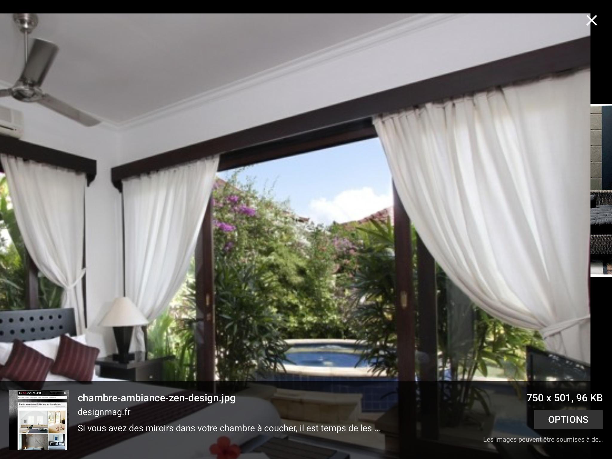 cache tringle noir et rideau blanc comme a a l 39 ext rieur. Black Bedroom Furniture Sets. Home Design Ideas