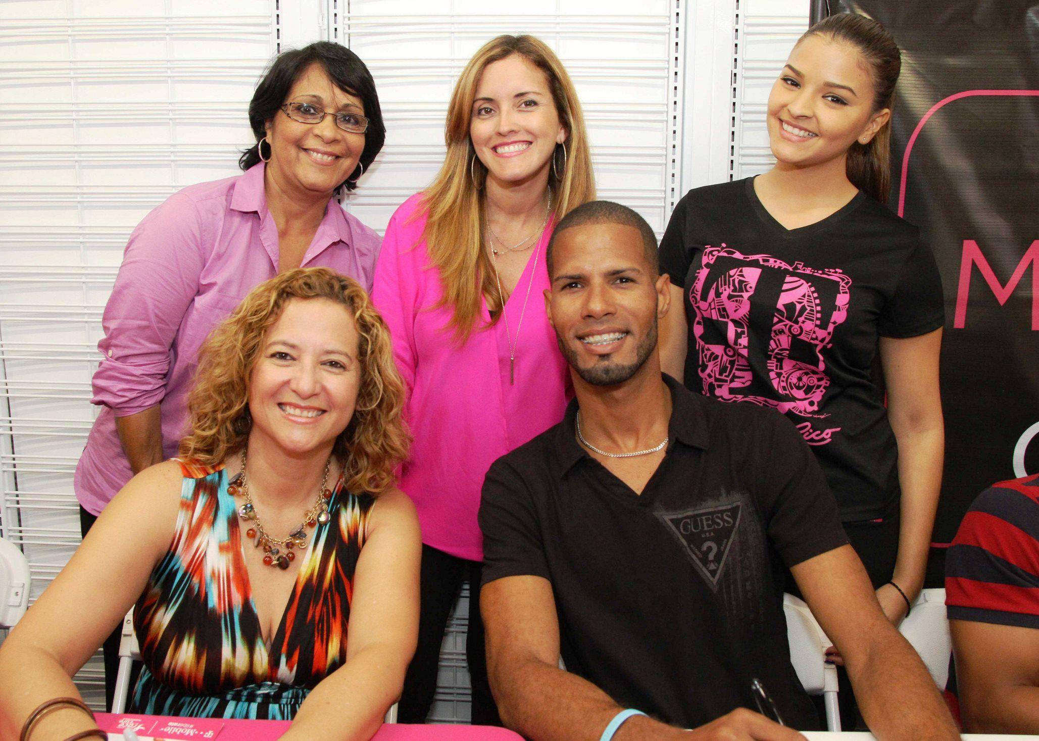 El  medallista olímpico puertorriqueño participa por sexto año consecutivo y se une a la causa contra el cáncer de seno