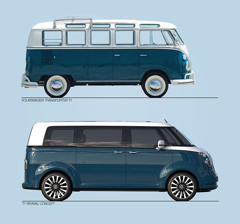 revival el regreso de la histrica furgoneta de volkswagen buena vibra transporte pinterest volkswagen father and cuisine