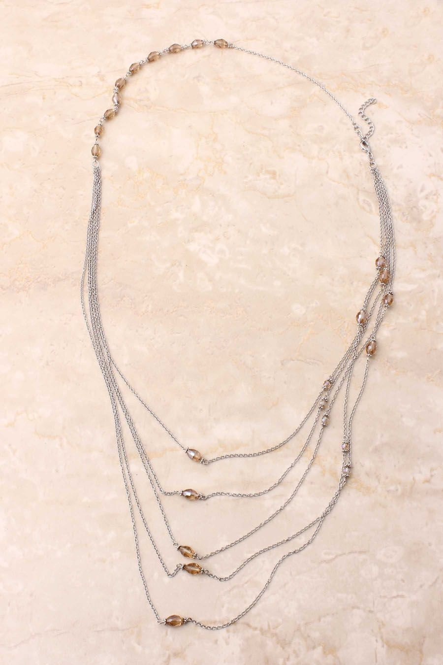 Crystal Rhea Necklace | Emma Stine Jewelry Bracelets