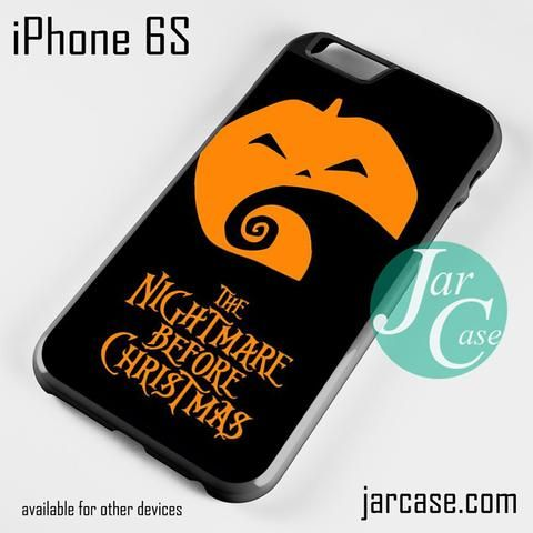 The Nightmare Before Christmas Pumpkin Phone case for iPhone 6/6S/6