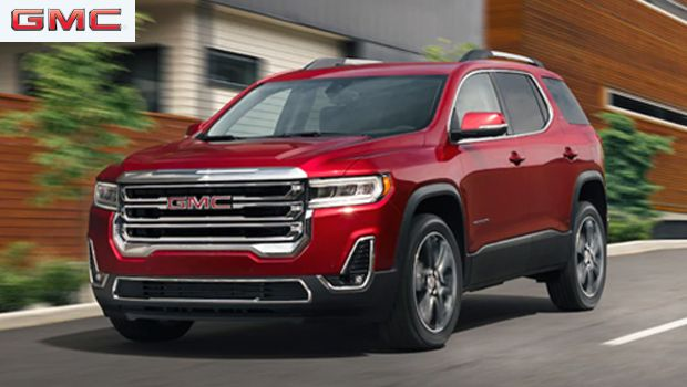 2020 Gmc Acadia Midsize Luxury Suv With A Powerful V6 Engine In