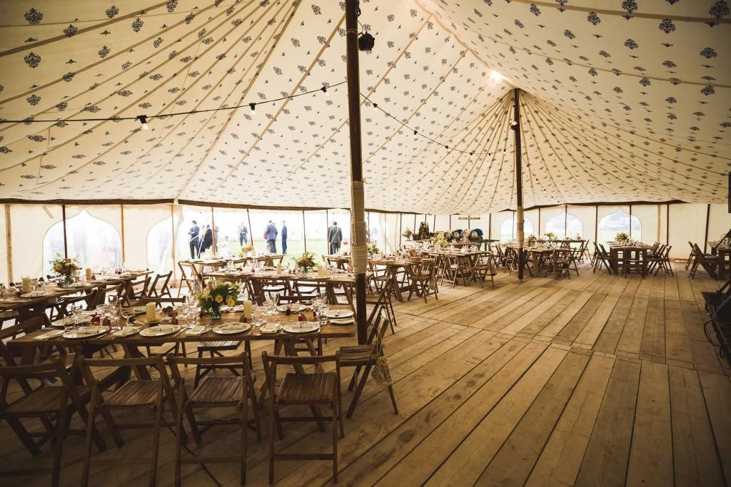 Wedding at Porthilly Farm featuring one of our LPM Bohemia Traditional Canvas Pole Tents with gorgeous scaffolding floor boards. & Image result for 40x60 pole tent | reception | Pinterest | Bohemia ...