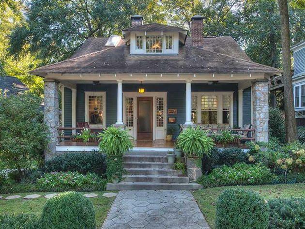 Atlanta Bungalows Places Hgtv Frontdoor Dream Home