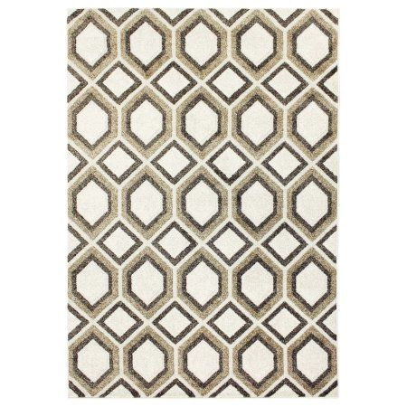 Better Homes And Gardens Abstract Honeycomb 5x7 Area Rug 8x10