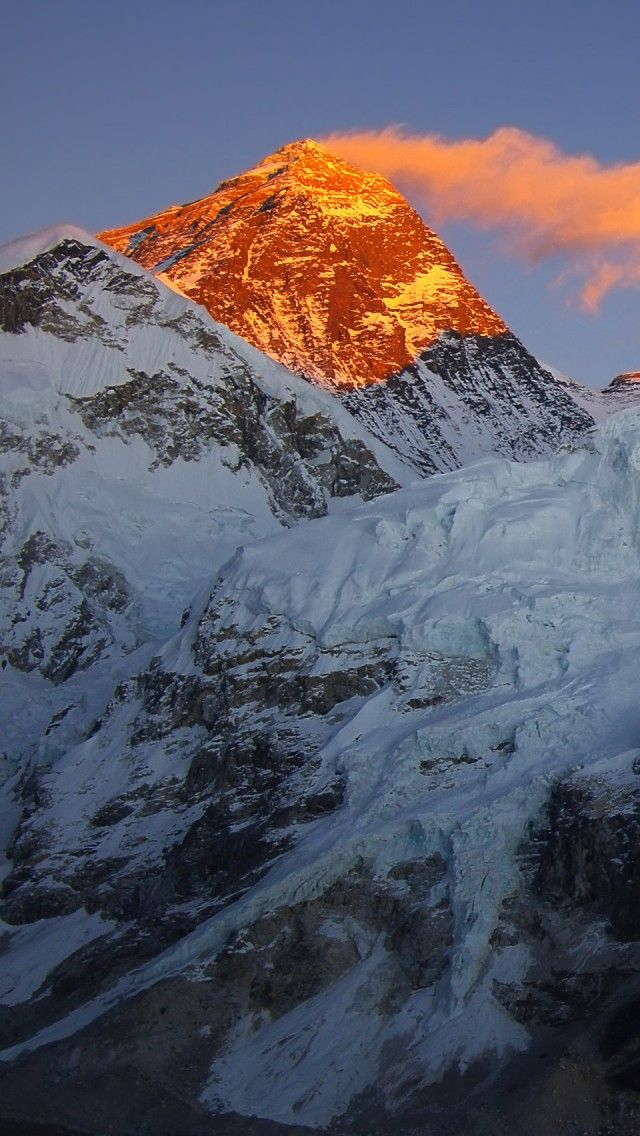 Iphone X Wallpaper Dimension Mount Everest Iphone 5 Wallpapers Backgrounds 640 X 1136
