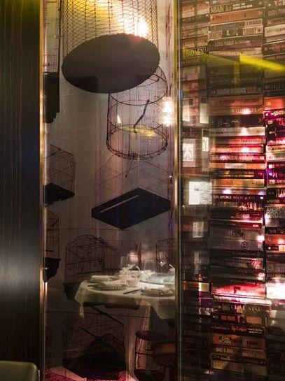 Sing yin w hotel hong kong restaurant interior design