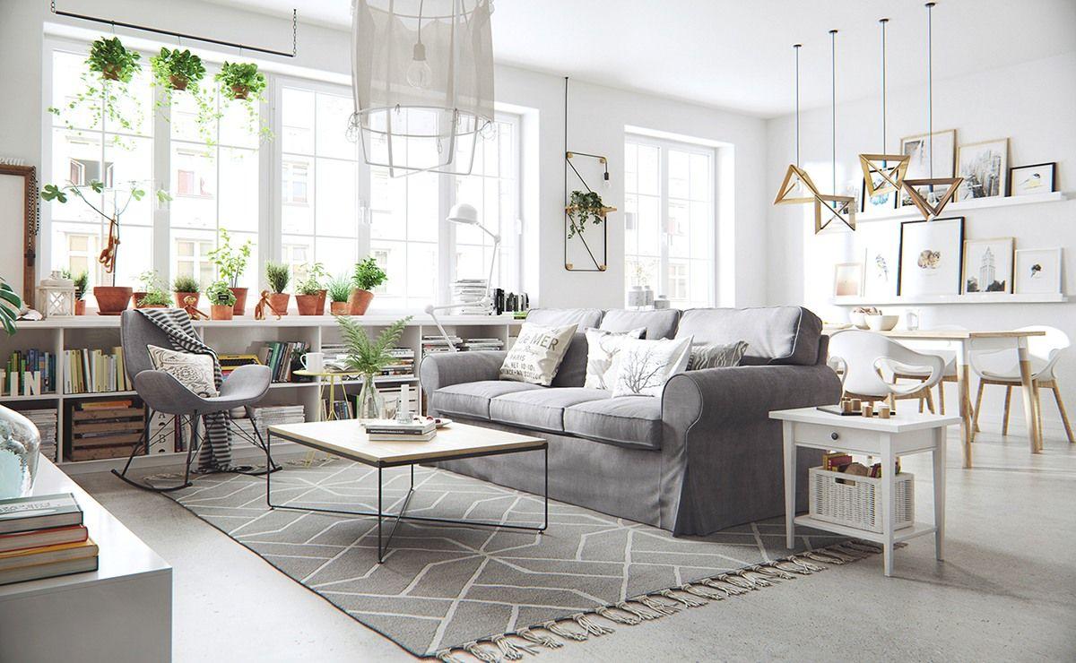 Un salon chaleureux et accueillant table basse avec - Salon chaleureux et accueillant ...