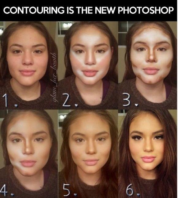 17 Unglaubliche Fotos, die die Kraft des Make-ups zeigen