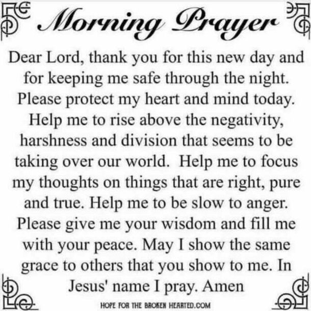 10 Sunday Prayers & Blessings Of The Day