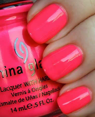 Cute summer color.