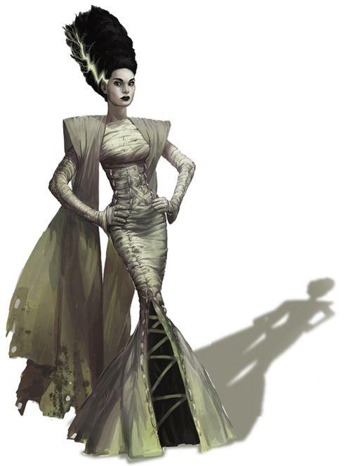 Frankensteinforever Bride Of Frankenstein Costume Bride Of Frankenstein Frankenstein Costume