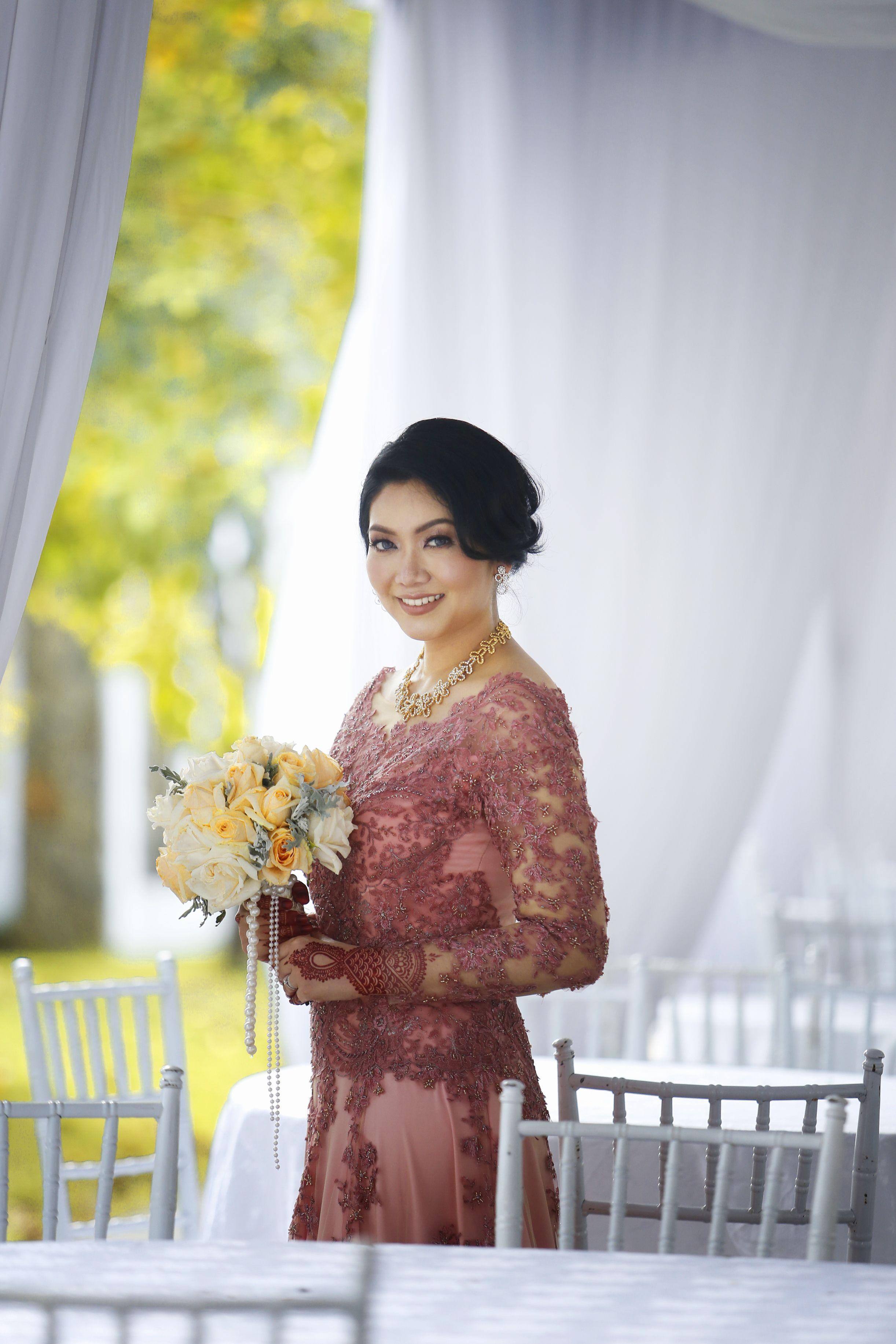 Malaysian wedding zimzafri muslim wedding dress ideas