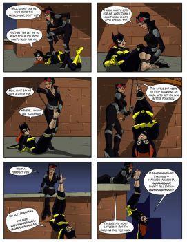 Rule barbara gordon batgirl batman series bondage-1086