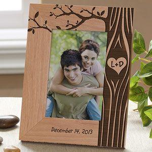 15 ans en bois cadre photo 4x6-Gravure Gratuit Happy anniversary