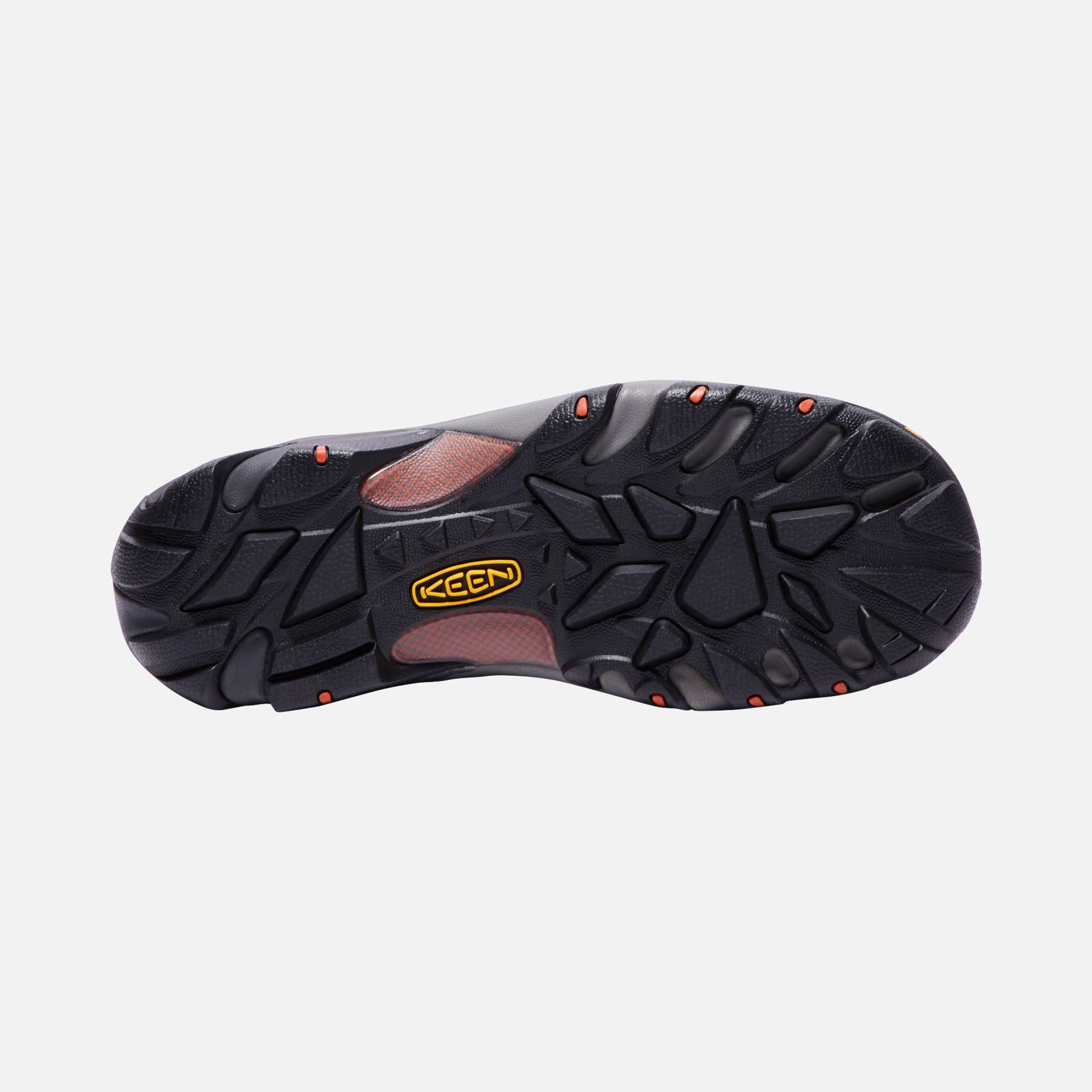 Keen Men S Boulder Low Steel Toe Shoes Size 10 5 Wide In Raven