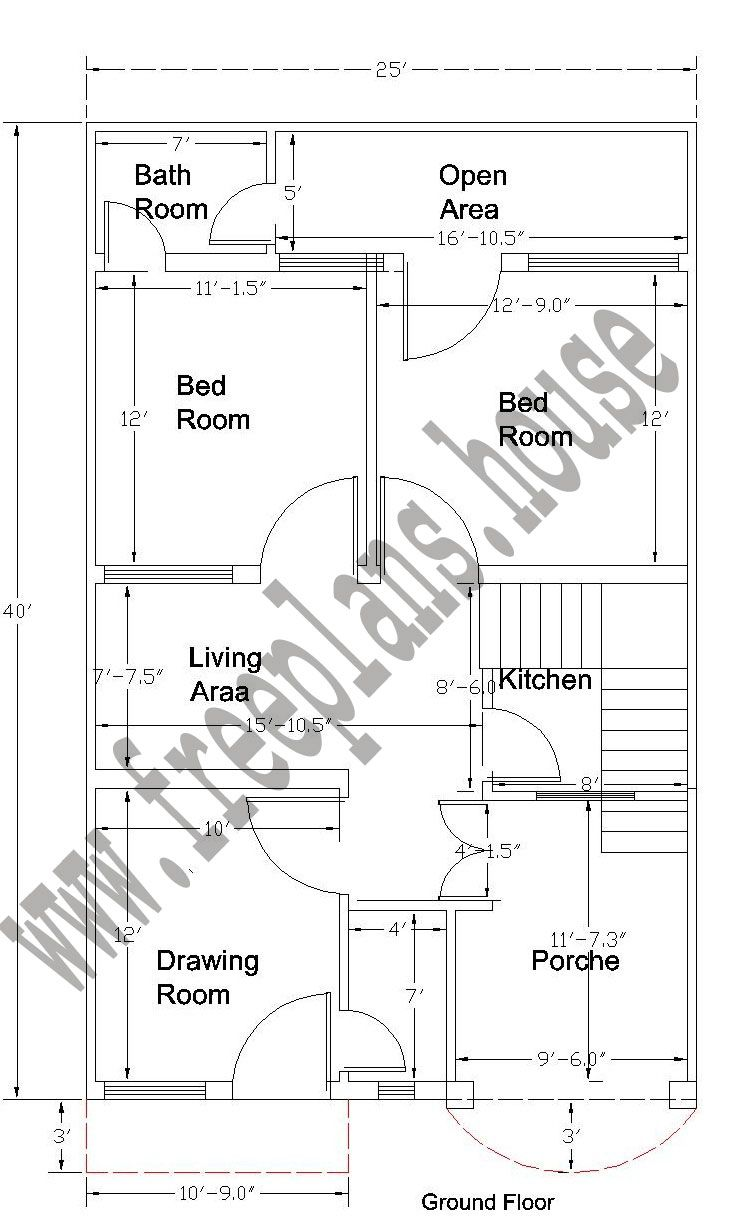 feet ground floor plan home map design plans also ramesh house simple rh pinterest