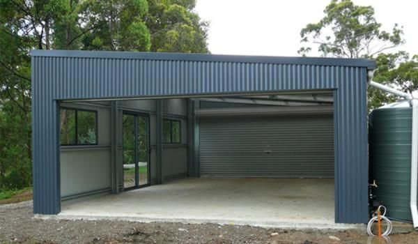 The Perfect Double Garage In 2020 Garage Design Carport Designs