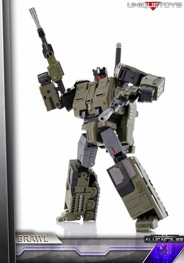 Transformers G1 Brawl Rear Gun Original Figure Accessory