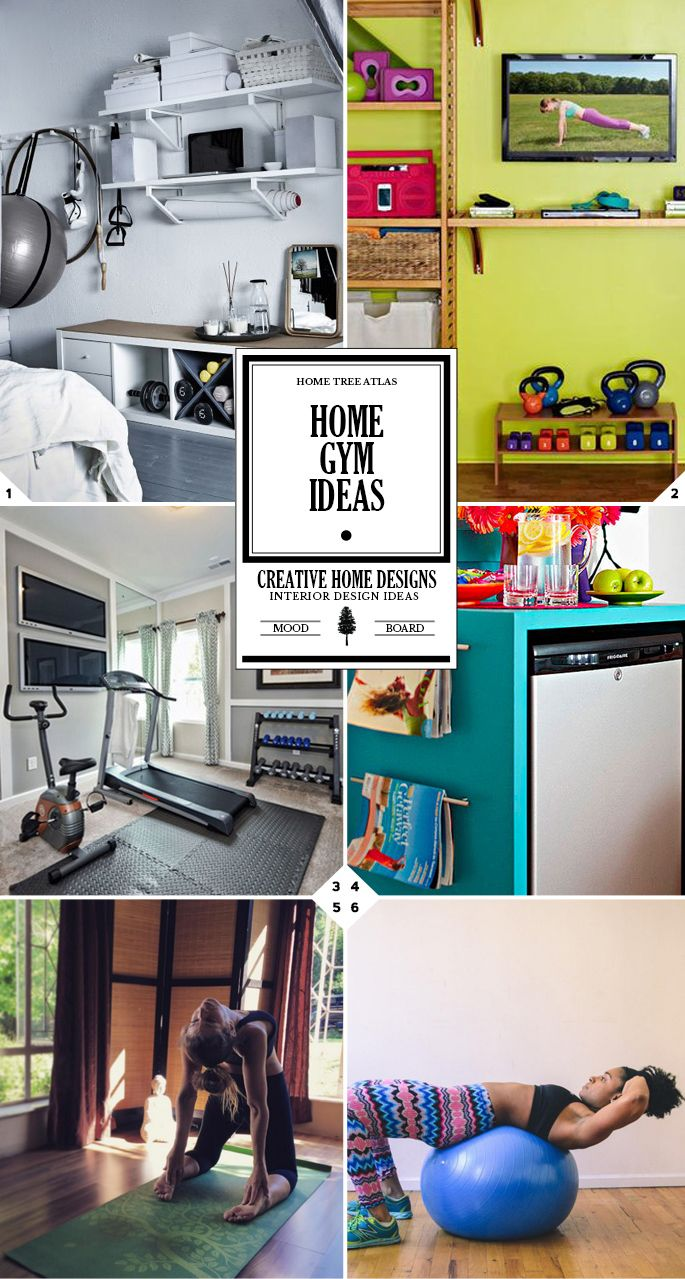 Home Gym Ideas: Creating Your Own Workout Space | Pinterest | Häuschen