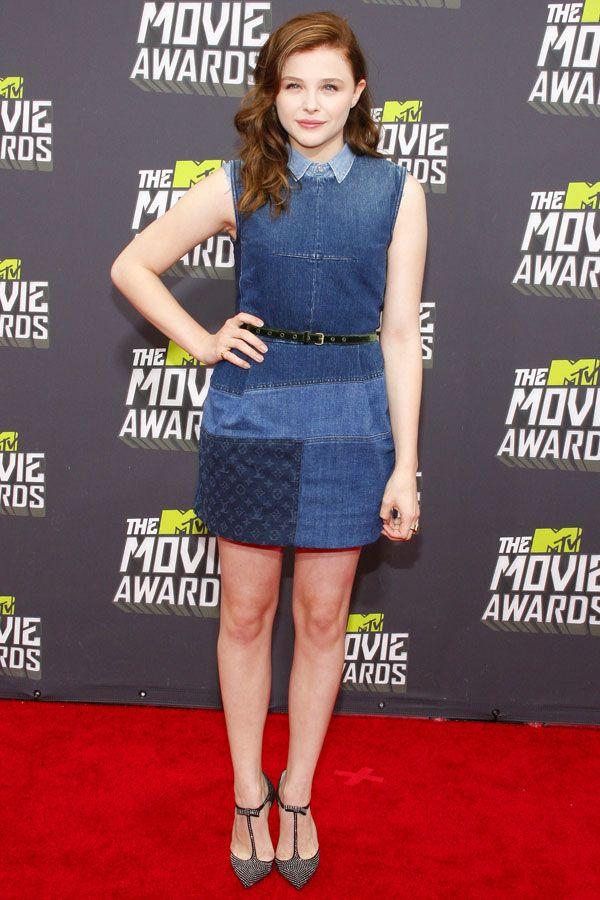 22949e8d99 Chloe Grace Moretz at the 2013 MTV Movie Awards. Look at dem hips!!