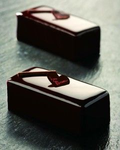 Monoportions πάγωμα σοκολάτας με καθρέφτη