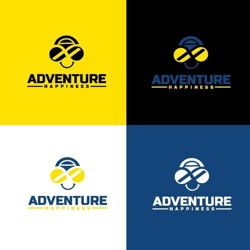 Adventure Happiness Logo Design Contest Ad Design Affiliate