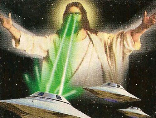 Jesus vs. Aliens