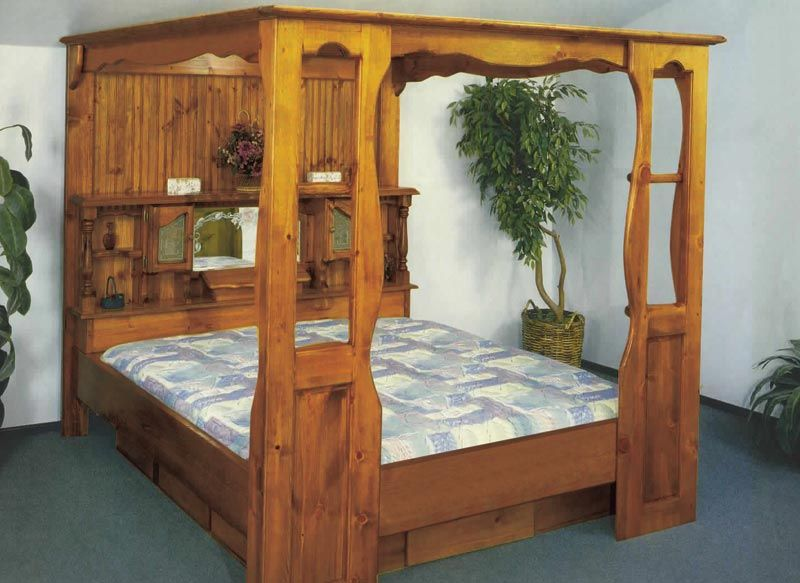 Buy Woodworking Project Paper Plan To Build Waterbed Frame Plan No 756 At Woodcraft Com Waterbed Headboard Water Bed Waterbed Frame