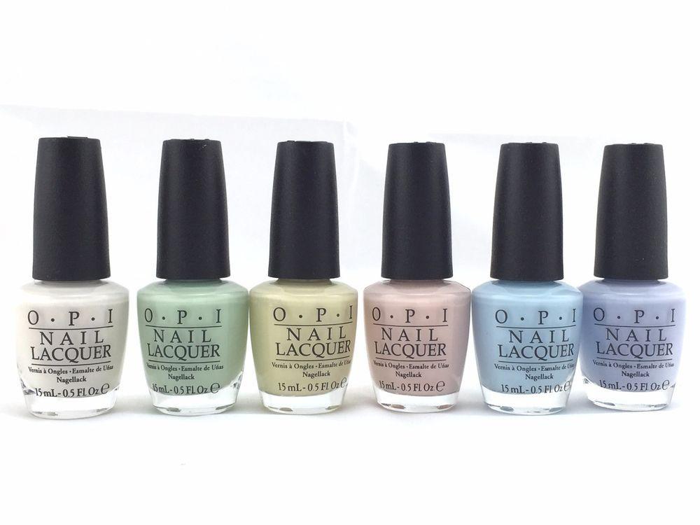 OPI Soft Shades Collection 2015 Nail Polish 0.5oz/15ml  | eBay