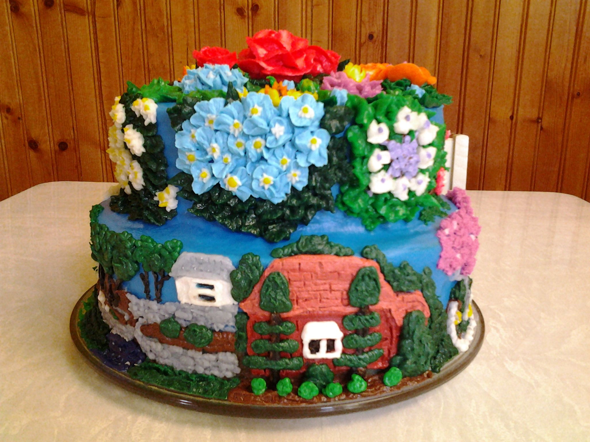 Birthday Cake Images For Diane : Colonial Clippers Ltd Cake by Bobbi Ames. For my cousin ...