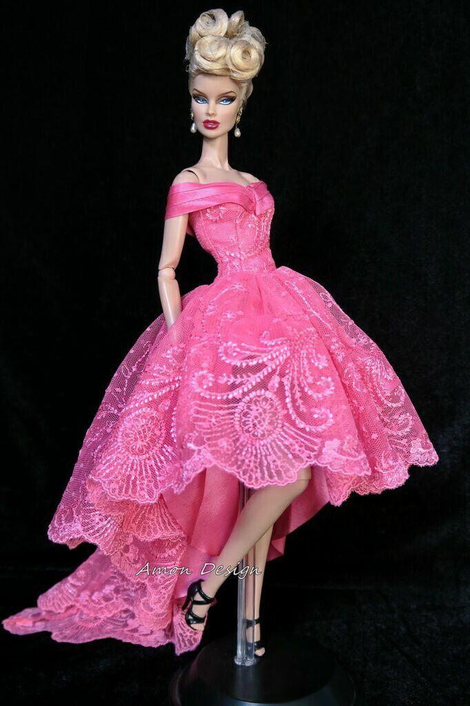 Pin de Carmen hb en Muñecas - trajes fiesta | Pinterest | Barbie ...
