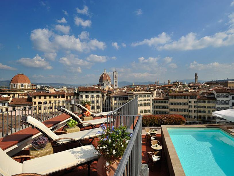 Grand Hotel Minerva Florence Has A Sixth Floor Terrace That Is The Perfect Place To Enjoy One Of The World S Most Fa Pools Vacation Grand Hotel Dream Vacations