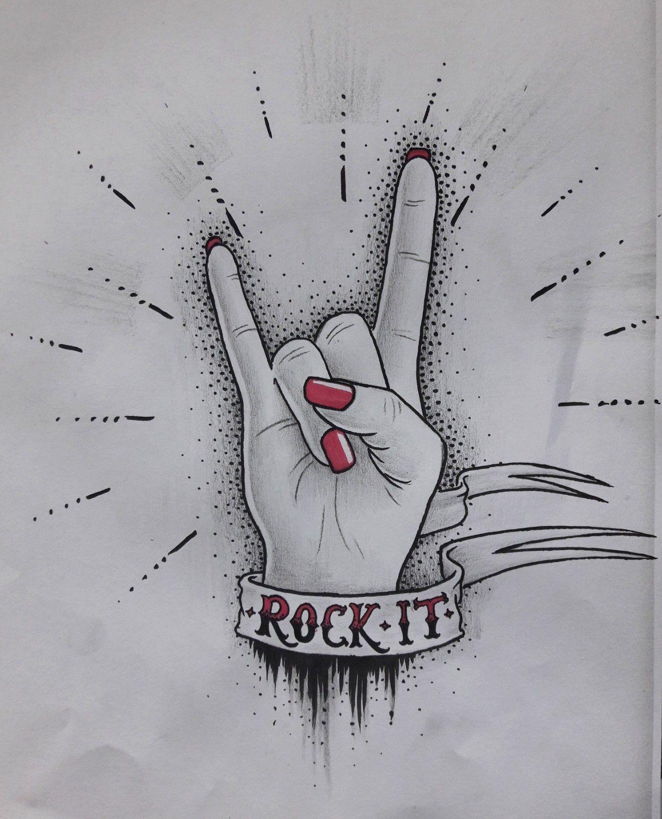20+ Dessin rock n roll ideas